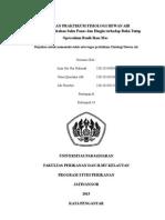 Laporan Praktikum Fisiologi Hewan Air bukaan operculum pada ikan
