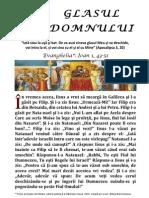 1.Glasul Domnului - Duminica Ortodoxiei 2014