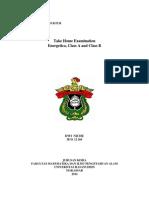 Energetica Examination