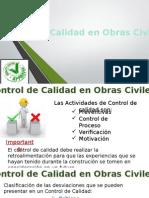 Control de Calidad en Obras Civiles