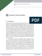 Cartesian Tensor Analysis