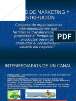 Canales de Marketing y Distrbución