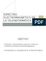 Espectro Electromagnético en La Teleinformática