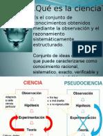 Clasificacion de Las Ciencias Segun Objeto de Estudio