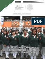 Guía Segunda Sesión Ordinaria del CTE 2015 - 2016.