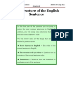 Rules of English Sentence