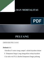 Ppt 1 Peluang Dan Mortalitas