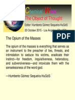 an extensive word essay on the effects of globalisation in the opium of the masses
