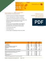 Swedbanks delårsrapport kvartal 3 2015