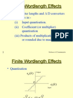 1 Finite Wordlength