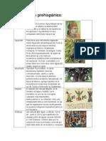 Vocabulario prehispánico