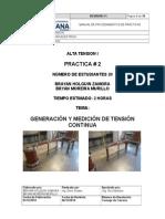 P2 PRACTICA SOBRE Caracteristica de Carga y Factor de Rizado
