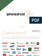 Presentación Corporativa de Iphonedroid (Español)
