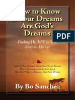 how to know if your dreams are gods dream