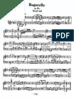 Beethoven Bagatelle