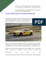 Mercedes-AMG GT Ra Mat Vao Ngay 09 Thang 9