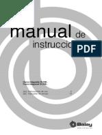 Manual de Instrucciones Horno Balay