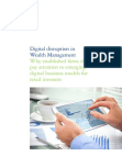 Study on Digital disruption in Wealth Management