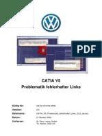 CATIA V5 Problematik Fehlerhafter Links V2 0 De