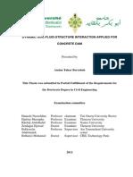 DYNAMIC SOIL-FLUID-STRUCTURE INTERACTION APPLIED FOR CONCRETE DAM