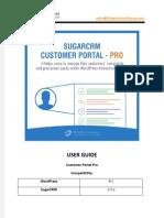 WordPress SugarCRM Customer Portal Pro Plugin