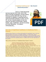 Secrets of Spiritual Sadhana Part 5 6