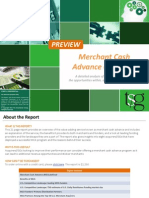 TSG Report - Merchant Cash Overview - PREVIEW