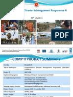 CDMP II-Parliamentary Standing Committee Meeting