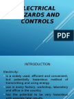 Electrical Hazards and Controls