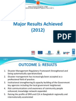 Major Results Achieved (2012)