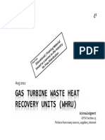 Gas Turbine WHRU - Introduction