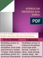 Kurikulum Indonesia Dan Korea