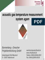 Acoustic Pyrometer