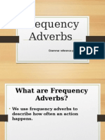 2 Frequency Adverbs