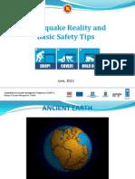 Earthquake Reality and Basic Safety Tips