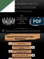 Presentasi Manajemen Mutu-Kelompok 2