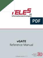 Teles  vGate  17_11 Setup Manual