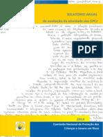 Relatório de Avaliação Da Atividade Das CPCJ 2014