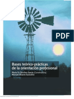 Bases Te Rico Pr Cticas de La Orientaci n Profesional