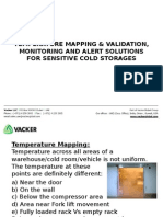 Temperature Mapping & Validation, Monitoring and Alert Solutions for Sensitive Cold Storages