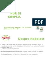 Material de Training Napolact Pur Si Simplu
