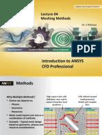 CFD Pro 14.5 L04 Mesh Methods