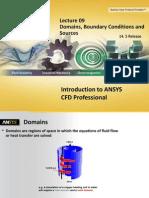 CFD Pro 14.5 L09 Domains BCs Sources