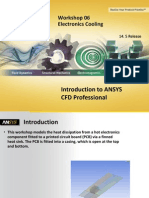 CFD Pro 14.5 WS06 Electronics Cooling CFX