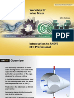 CFD Pro 14.5 WS07 Inline Mixer CFX