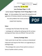 2 exchange rates oct 20 2015