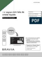 Manual TV Sony Bravia