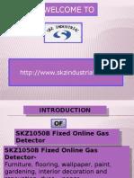SKZ1050B Fixed Online Gas Detector.pptx
