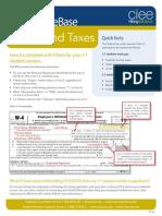 WAT Knowledge Base Payrolltaxes