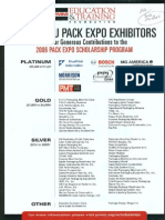 Pack Expo Scholarship